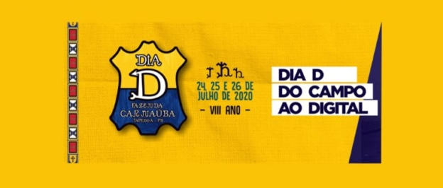 """""""Dia D"""" da Fazenda Carnaúba será online em 2020"""